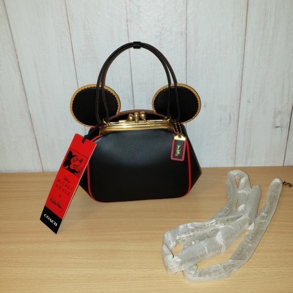 Coach Keith Haring Mickey Mouse Bag